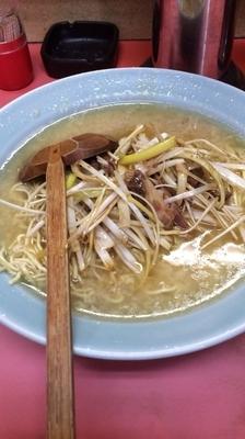 「ネギラーメン 麺硬 脂多め」@ラーメンショップ 八潮中央店の写真