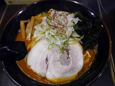 「鉄火麺 (激辛)」@北海道らーめん ひむろ 北千住店の写真