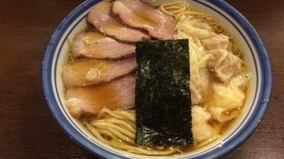 「チャーシューミックスワンタン麺」@麺屋 はやしまるの写真