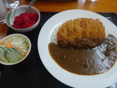 「カツカレー」@大岡食堂の写真