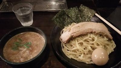 「特製雀つけ麺(大盛り)」@つけ麺 雀 アメ村本店の写真
