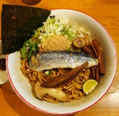 「【限定】 旬の秋刀魚そば:850円」@きら星の写真