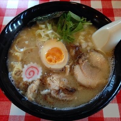 「鶏白湯麻油そば 極細麺  麻油抜き」@らー麺Chopの写真