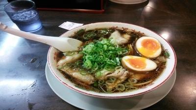 「中華そば」@新福菜館 KiKi京橋店の写真