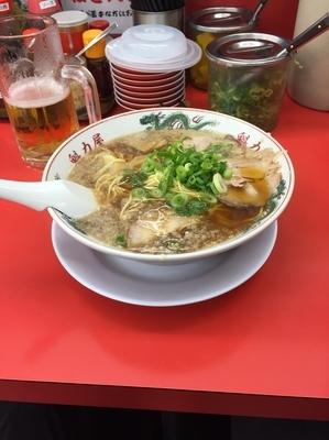 「醤油ラーメン大盛」@ラーメン魁力屋 八潮店の写真