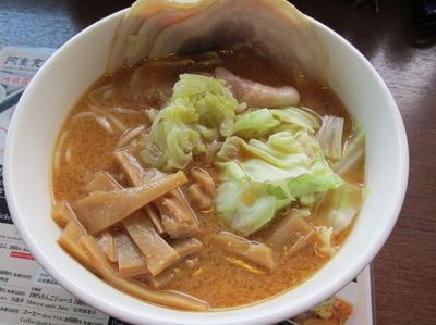 「信州味噌チャーシューメン 「1,200円」」@河童食堂の写真
