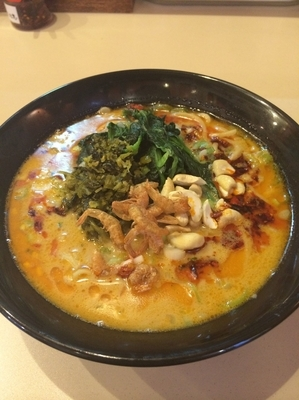 「坦々麺」@横浜家系らーめん たけ家の写真