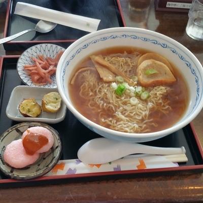 「煮干ラーメン(600円)」@まさかりプラザ レストランの写真