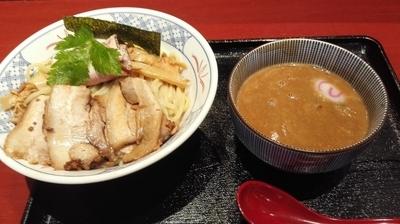「濃厚チャーシュー盛りつけ麺 1150円」@麺や庄の ラゾーナ川崎店の写真
