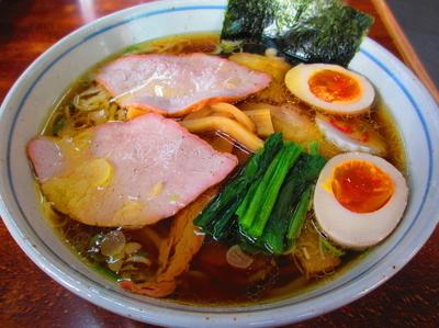 「焼豚麺¥910煮玉子¥100大盛り¥180」@とら食堂の写真
