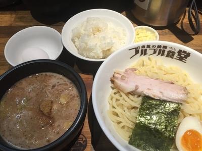 「本気の豚つけ定食(980円)」@本気の焼豚 プルプル食堂の写真