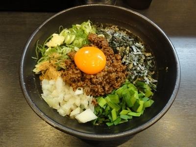 「カレー台湾まぜそば」@麺屋 つばきの写真