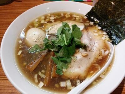 「煮干醤油そば(20食限定)」@中華そば こがね屋の写真