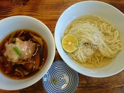 「つけ麺 ¥900」@らぁ麺 飯田商店の写真