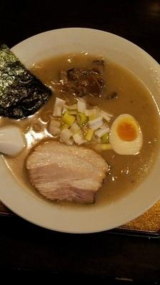 「白味噌麺」@信濃神麺 烈士洵名の写真