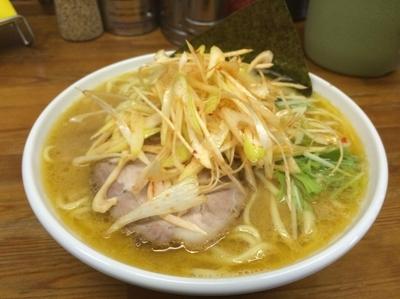 「ネギラーメン太麺」@入船食堂の写真