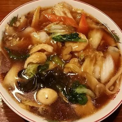 「五目あんかけ刀削麺 459円(12日迄半額)」@台湾料理 味楽美食の写真