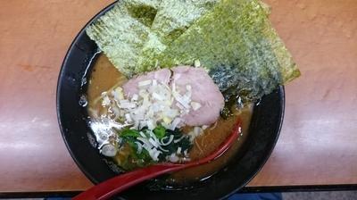 「ラーメン¥650  ライス¥50」@横浜ラーメン 武蔵家 幡ヶ谷店の写真