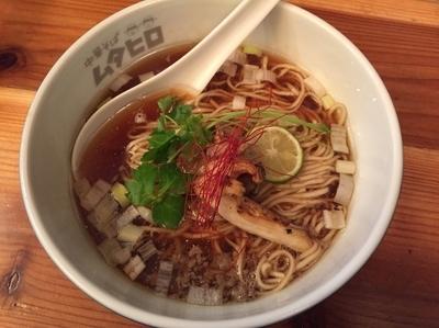 「【150食限定】牛と煮干の中華そば2015【1000円】」@串あげ ムタヒロの写真