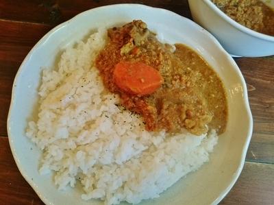 「野菜キーマカリー(大) \770」@raffles curryの写真