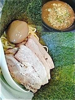 「つけ麺(チャーシュー麺のチケットで/¥1000)」@さんじの写真