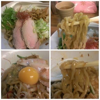 「油そば+生卵」@くじら食堂の写真