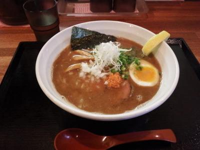 「和こく 鮭だし醤油」@麺匠 赤松の写真