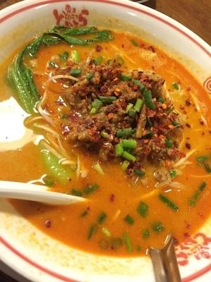 「担々麺」@東京とんこつ とんとら 川越店の写真