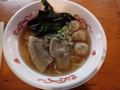 「仙台 五福星 超淡麗 魚介系しおらーめん。」@大つけ麺博プレゼンツ つけ麺VSラーメンの写真