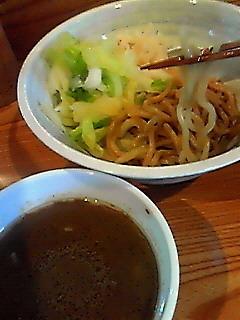 「つけ麺(並)¥500」@つけ麺屋 丸孫商店の写真