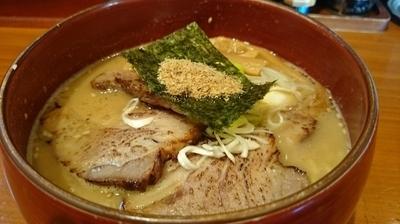 「味噌チャーシューメン」@麺道 ともよし 東三国店の写真
