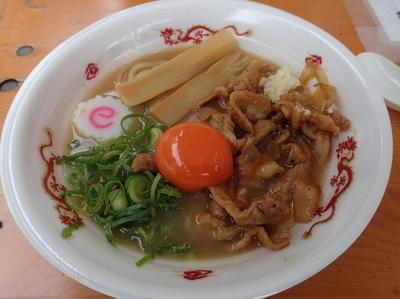 「肉玉そば おとど 極・肉玉そば」@大つけ麺博プレゼンツ つけ麺VSラーメンの写真