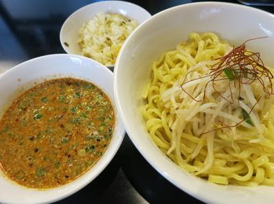 「白胡麻担担つけ麺  900円」@金蠍の写真