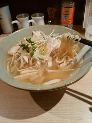 「鶏そば680円」@ボノボの写真