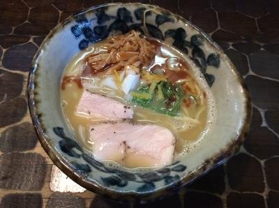 「純鶏そば  海老風味」@特級鶏蕎麦 龍介の写真