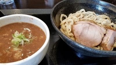 「どろつけ(小)800円」@つけ麺 どでんの写真