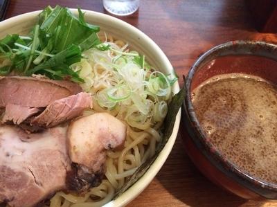 「濃厚つけ麺  中盛り  味玉」@麺処ほおずきの写真