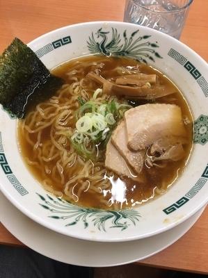 「中華そば390円」@日高屋 西武新宿前店の写真