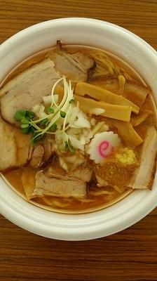「プレミアム黒豚肉そば札幌味噌スタイル」@東京ラーメンショー2015の写真