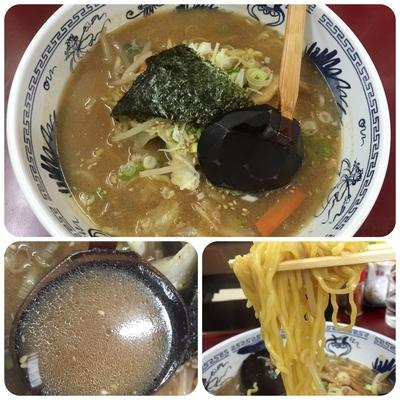「味噌ラーメン¥700+税」@さっぽろ桃園 千歳駅前店の写真