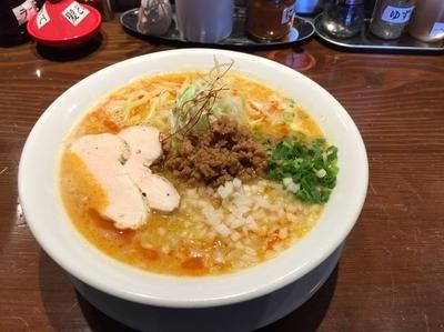 「【土日祝日限定メニュー】鶏玉たんたん 1000円」@風見鶏 本店の写真