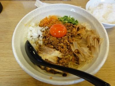 「男の台湾まぜ麺(200g)」@男のラーメン 麺屋 団長の写真
