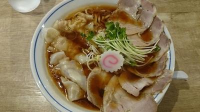 「ワンタンメン:チャーシュー増し」@麺や マルショウ 新大阪店の写真