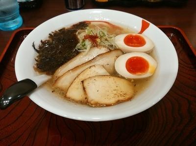 「特製塩らーめん(並盛・140g)980円」@麺屋 福籠の写真