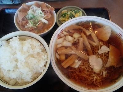 「ラーメン定食」@円城の写真