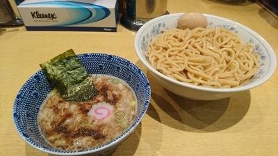 「【夜の部】あつもり(大)+味玉(クーポンサービス)」@くり山の写真