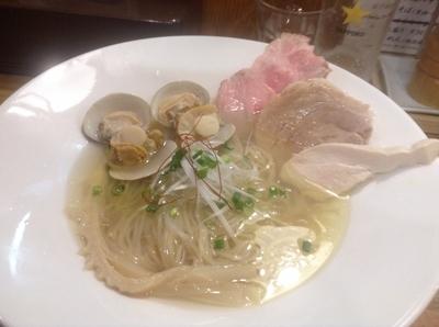 「【限定】蛤と帆立の清湯」@麺庵 小島流の写真