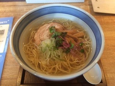 「塩ラーメン」@麺や Co粋の写真