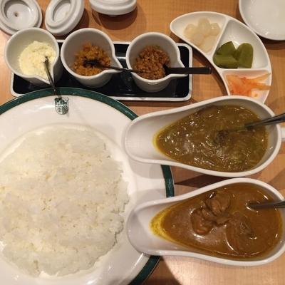 「西洋料理通からの再現ビーフカレーと 純印度式カリーセット」@Mannaの写真