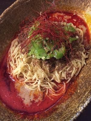 「DEATH 800円」@汁なし担担麺 武蔵坊の写真